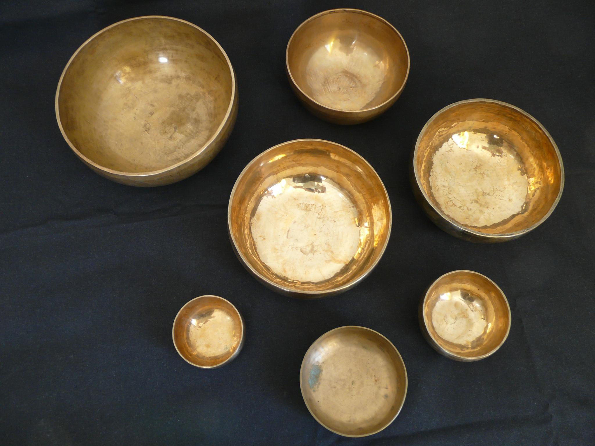 Le pouvoir des bols tibétains, instruments thérapeutiques