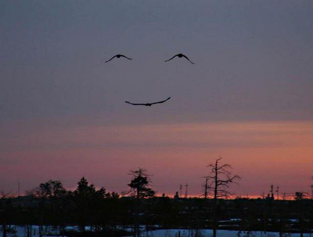 sourire du ciel