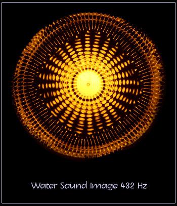 432 Hz, résonance de l'eau
