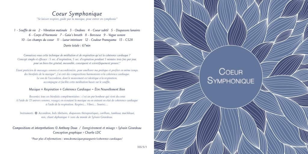 CD Coeur Symphonique (entier)- Anthony Doux