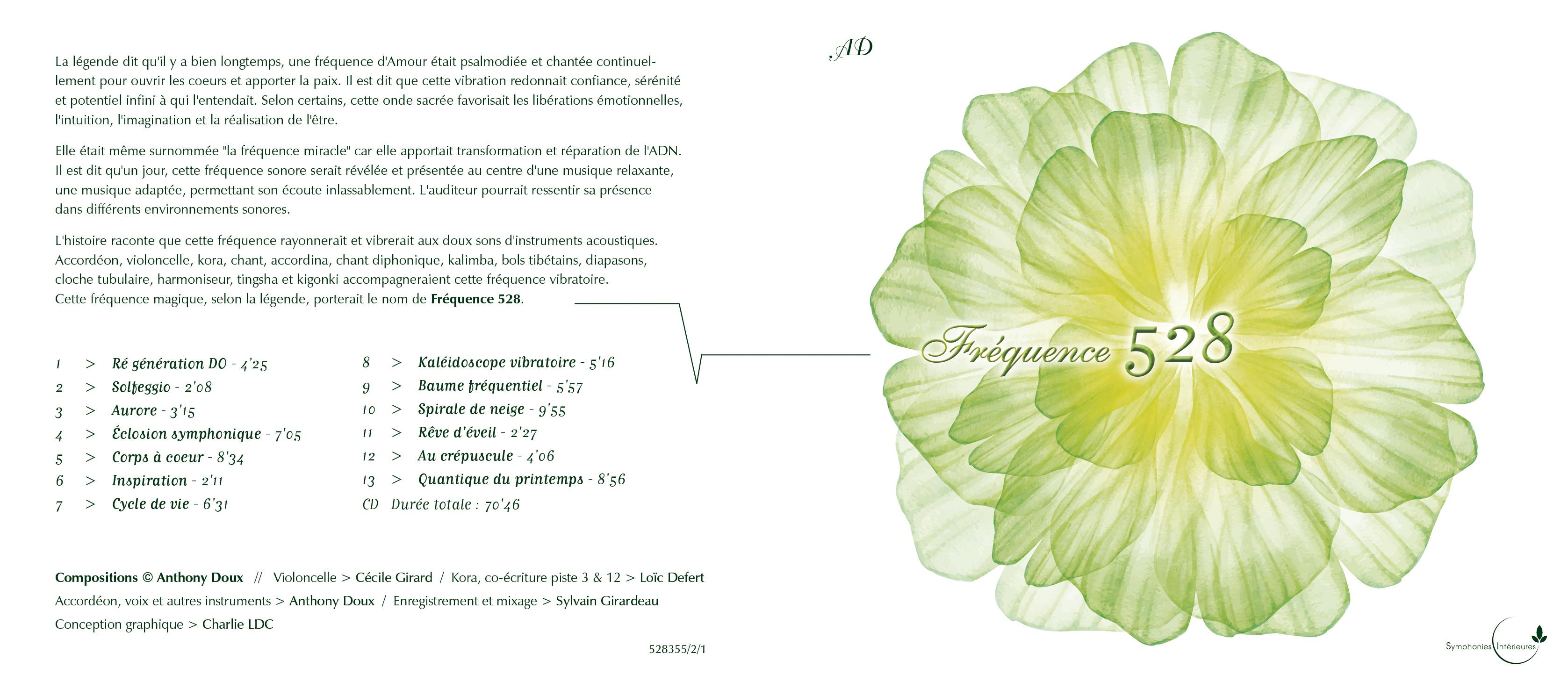 FrŽquence 528 - Anthony Doux en tant qu'objet dynamique - 1