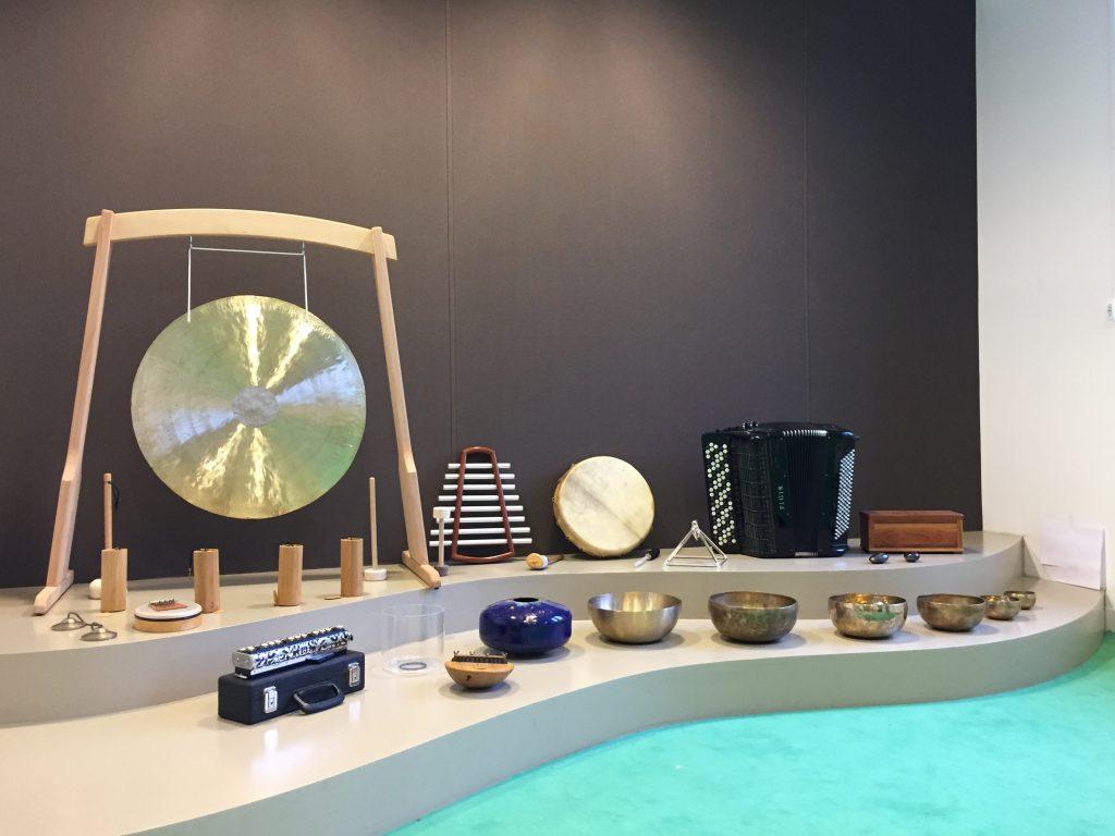 Massage sonore, instruments